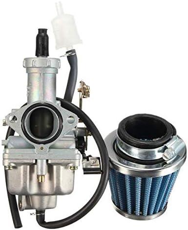 RENCALO Carburador de 27 mm Carb 38mm W/Filtro de Aire para Honda ATV TRX250 TRX250X 2009-2012