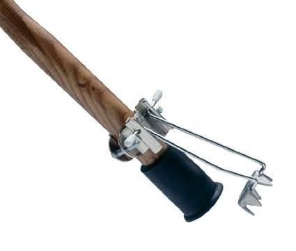 Hielo garra para bastón, nieve Pike, dentadas Corona universal, 5 puntas, soldador