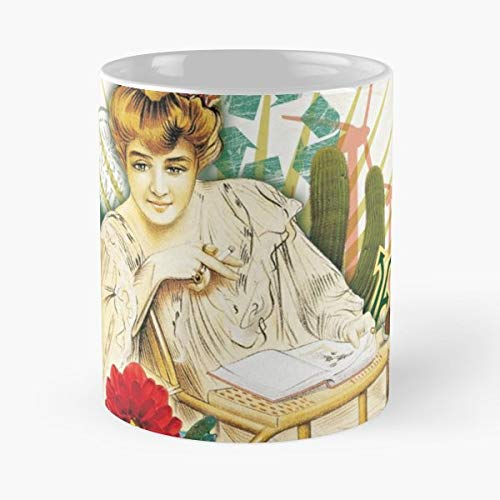 Vintage Maja Ancient Advertising Rolling Paper - Coffee Mugs Unique Ceramic Novelty Cup Best Gift