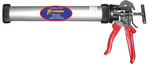 Black NEWBORN Caulk Gun 620-AL-BLACK Bulk//Sausage Packs,Blk,24 oz.