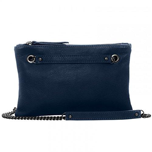 CASPAR Fashion - Bolso cruzados para mujer - azul oscuro