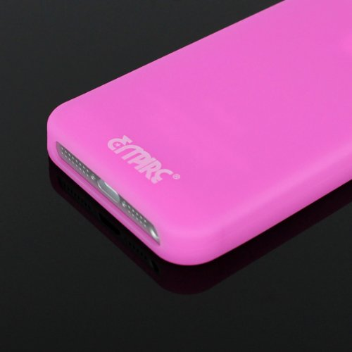 EMPIRE Pink Rosa Glows in the Dark Silicone Skin Cover Couverture Case Étui Coque for Apple iPhone 5