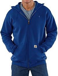Carhartt Men's Midweight Zip Front Hooded Sweatshirt K122