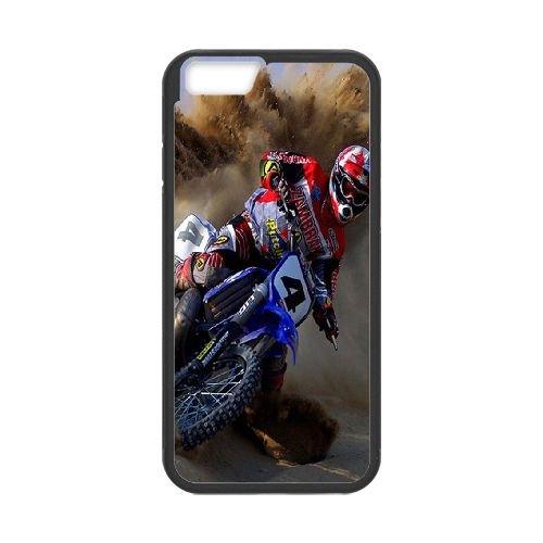Motocross 004 coque iPhone 6 Plus 5.5 Inch Housse téléphone Noir de couverture de cas coque EOKXLKNBC24002