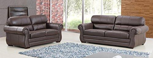 top grain leather sofa set - 1