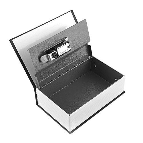 Diccionario oculto libro secreto seguridad dinero dinero caja de seguridad código con bloqueo
