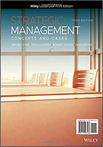 Strategic Management Concepts and Cases, 3rd Edition