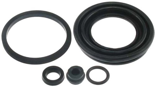 ACDelco 18H204 Professional Rear Disc Brake Caliper Boot and Seal Kit with Boot, Seals, and Cap (Rear Seal Caliper)