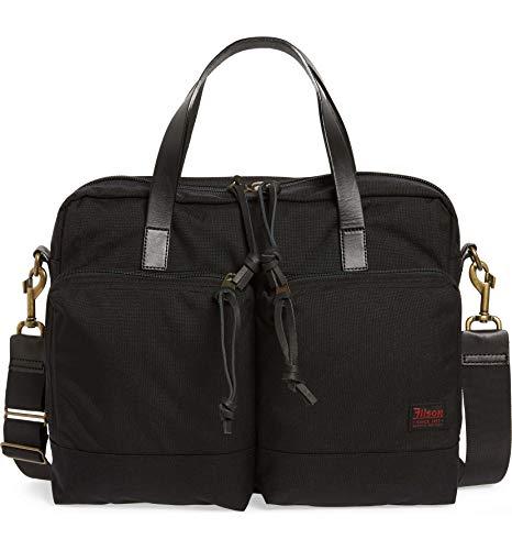 (Filson Unisex Dryden Briefcase Dark Navy One Size)