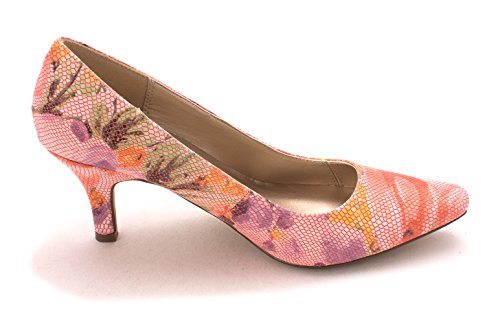 Karen Scott Womens Clancy Pointed Toe Classic Pumps Pink/Floral 8siL6rN