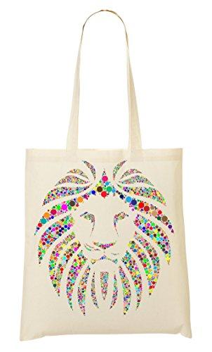 Fourre Colorful Tout Sac Lion À Graphic Head Provisions Sac Circle TUTXp