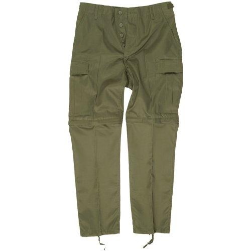 Zip Off Pants Olive (Mil-Tec Zip-Off Combat Trousers Olive size XL)