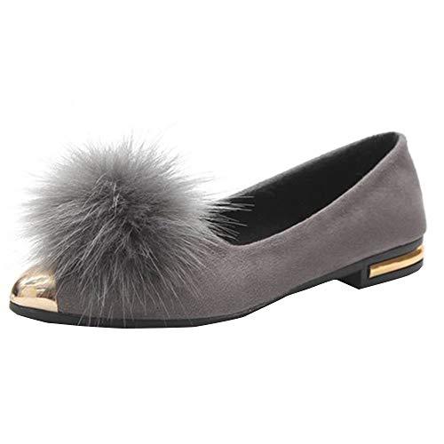 In Casa Delle Donna Autunno E Basse scarpa Peluche Stivali Moda A Vovotrade Superficiale Bocca Donne Punta Pi Scarpe Inverno pq8TWR