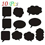Ieasycan Black Mini Chalk Board Photo Booth Props Photography Props Wedding Birthday Party Design Decorative Gadgets Accessories 10Pcs