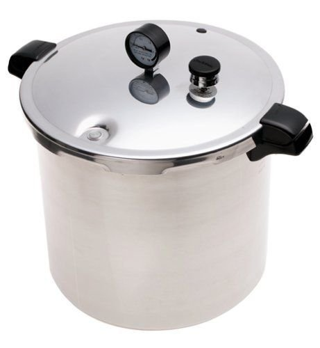 Extra-Strong, Warp-Resistant Aluminum, 23-Quart Pressure Canner