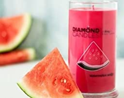 Diamond  DC 001 Watermelon Wedge Scent Ring Jar Candle