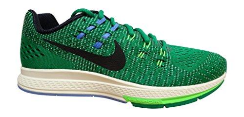 Nike Air Zoom Structure 19 Flash Laufschuh Klares grünes schwarzes Segel 303