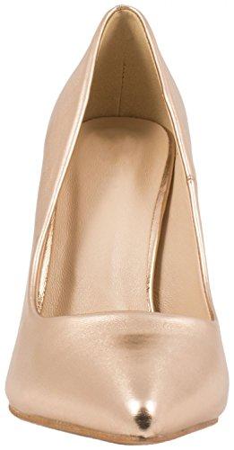 Chaussures Soirée Hauts Dentelle Champagne Talons Escarpins Femmes Classique xCwfq6Px