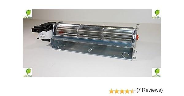 Ventilador tangencial DN 60, con ventilador de 48 cm, motor ...