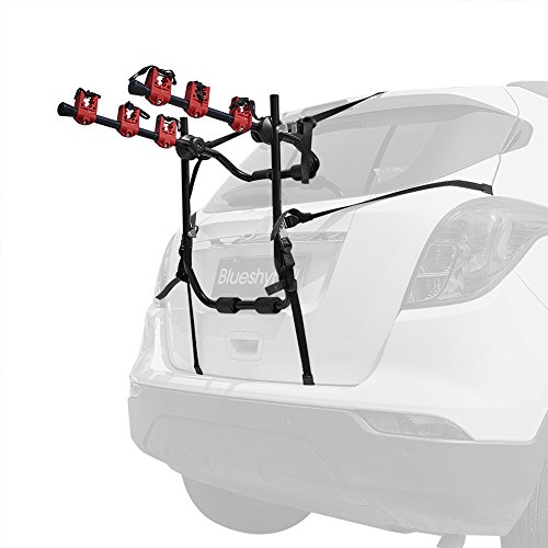 Blueshyhall Bicycle Carrier Bike Rack Trunk Mount Bike Rack for Car Bike Rack Trunk Mount Rack Bicycle Carrier Rack