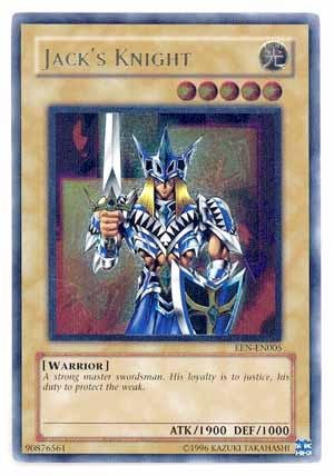 (Yu-Gi-Oh! - Jack's Knight (EEN-EN005) - Elemental Energy - Unlimited Edition - Ultimate Rare)