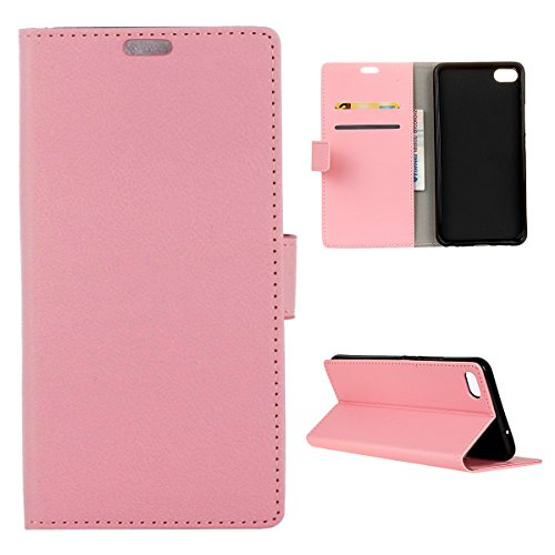 AICEDA Meizu Meilan U20 Wallet Case, [Folio Style ] Premium Meizu Meilan U20 Card Cases Stand Feature Compatible with Meizu Meilan U20 [Pink ] Phone Case Slim Flip Cover with Phone Case Slim