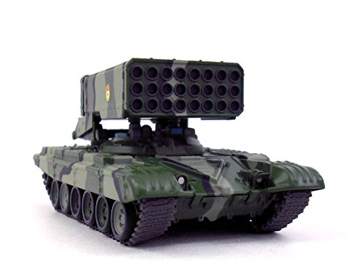 - Soviet TOS-1 Multiple Rocket Launcher - Thermobaric Weapon 1/72 Scale Diecast Model