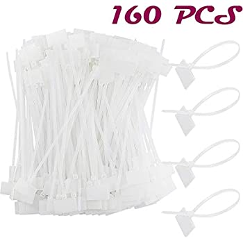 c9993519949c Acmer 160 PCS 6 inch Nylon Cable Marker Self Locking Type,Nylon Cable Ties,
