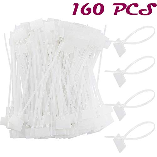 Acmer 160 PCS 6 inch Nylon Cable Marker Self Locking Type,Nylon Cable Ties,Ethernet Wire Zip,Assorted Colors Nylon. (Printer Not Showing Up In Devices And Printers)