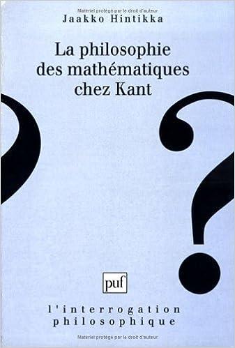 Lire un La Philosophie des mathématiques chez Kant pdf epub
