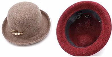 fae4ba98d3b69 RangYR Sombrero De Mujer Sra. Cap Gorras Sombreros De Invierno ...