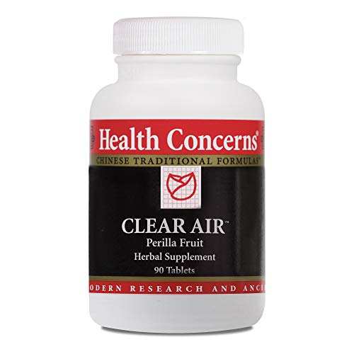Health Concerns - Clear Air - Perilla Fruit Herbal Supplement - 90 Tablets