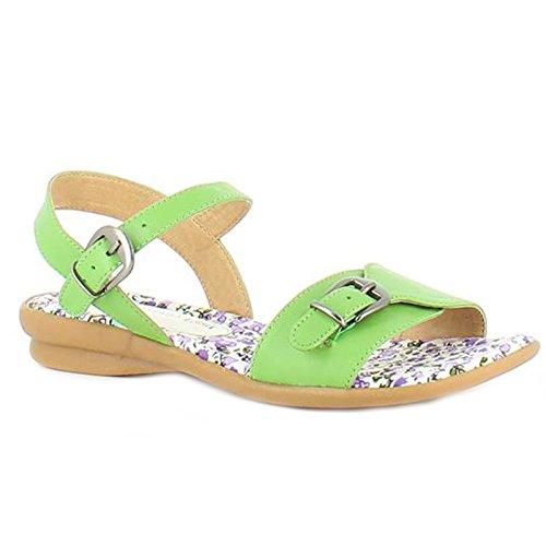 Heavenly Feet - Sandalias de vestir para mujer verde lima