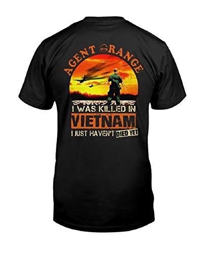 Agent Orange in Vietnam Classic T Shirt for Men Print Short Sleeve Tees Tops ()