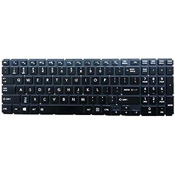 OEM For Toshiba P55 P55t P55-A P55t-A P55t-A5202 Laptop Keyboard Backlit US-GO