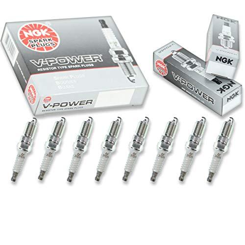NGK V-Power 8pcs Spark Plugs GMC K1500 96-99 5.7L 5.0L V8 Kit Set Tune Up