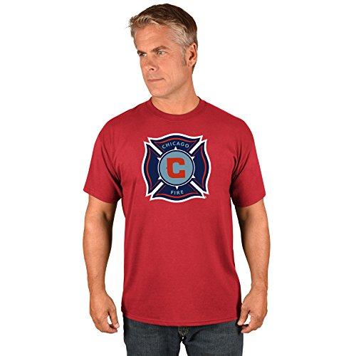 (Majestic Chicago Fire MLS Men's Team Logo T-shirt)