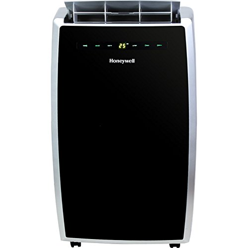 honeywell-mn12ces-12000-btu-portable-air-conditioner-with-remote-control-black-silver