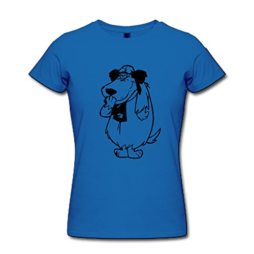 Women's Funny Muttley Blue T-shirt