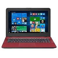 """Asus VivoBook MAX X441NA-GA015T 1.10GHz N3350 Intel® Celeron® 14"""" 1366 x 768Pixeles Rojo Portátil - Ordenador portátil (Intel® Celeron®, 1.10 GHz, 35.6 cm (14""""), 1366 x 768 Pixeles, 4 GB, 500 GB)"""