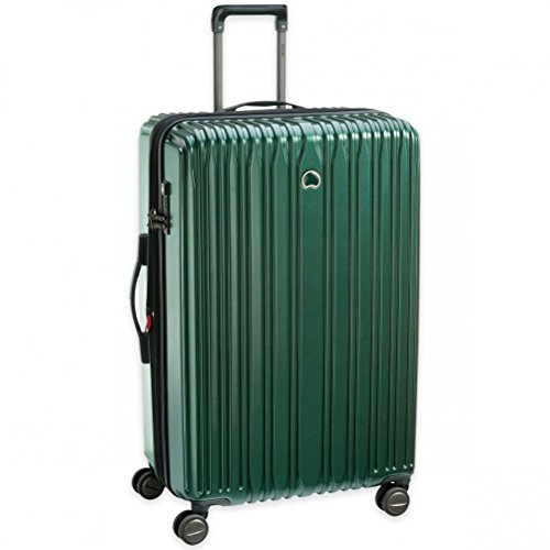 """Delsey Unisex 29"""" Chromium Lite Expandable Spinner Upright Emerald One Size"""