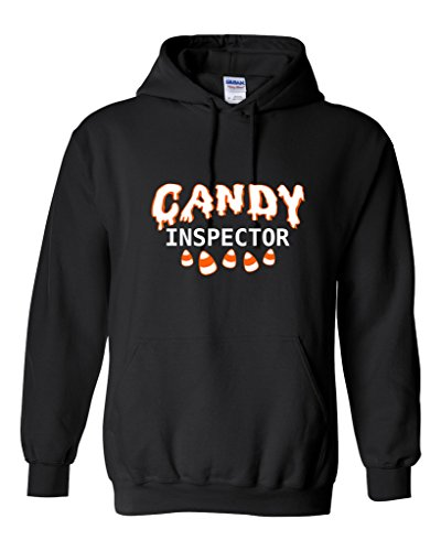 Candy Inspector Sarcastic Novelty Costume Funny Halloween 4XL Black (Offensive Funny Halloween Costume Ideas)