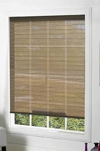 Lewis Hyman 2486406 Premium Interior/Exterior Solar Shade, 30-Inch Wide by 64-Inch Long, Tuxedo Brown