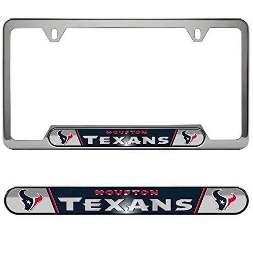 Team ProMark (TEK7V) NFL Houston Texans License Plate Frame