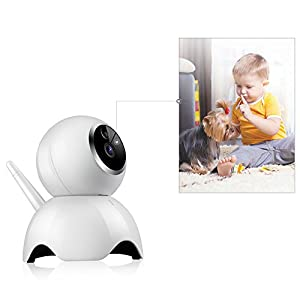 VStoy Dog Camera by 720P Pet Monitor Indoor Cat Camera Night Vision 2 Way Audio and Motion Detection Pet Camera from VStoy