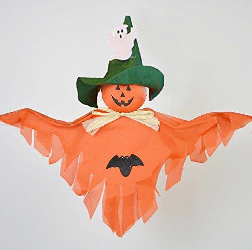 Kicode Halloween Horror Ghost Dolls Props Hanging Garland De