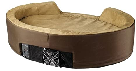 Amazon.com: Dolce Vita duotemp mascota cama, Medio, 32 por ...