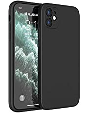TERSELY Case Cover for Apple iPhone 12, Soft Case Cover with Liquid Silicone Rubber Skin, Slim Fit Comfortable Grip, Screen Camera Protection for Apple iPhone 12 6.1-Inch