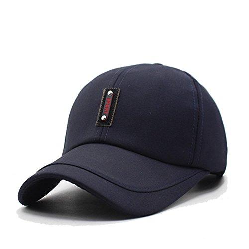Donna Pierce Fashion Baseball Cap Men Snapback Caps Women Hats For Men Dad Casquette Bone Casual Plain Flat Adjustable Sun Hat Caps navy