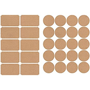 avery print to the edge round labels kraft brown 2 5 inch diameter pack of 90. Black Bedroom Furniture Sets. Home Design Ideas